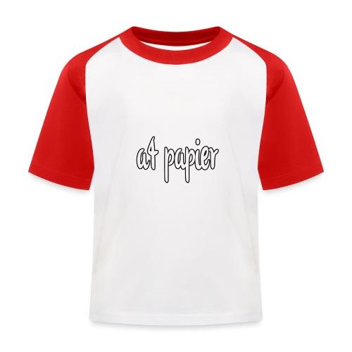 A4Papier - Kinderen baseball T-shirt