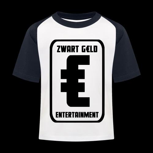 ZwartGeld Logo Sweater - Kinderen baseball T-shirt