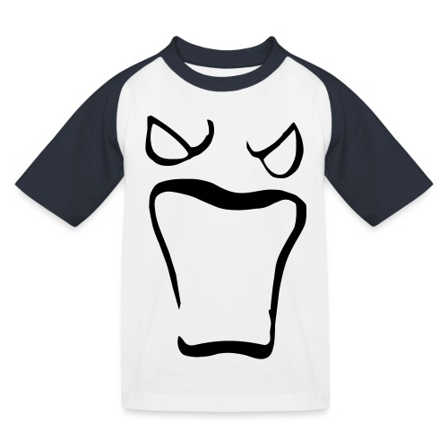 Monsters running wild - Baseboll-T-shirt barn