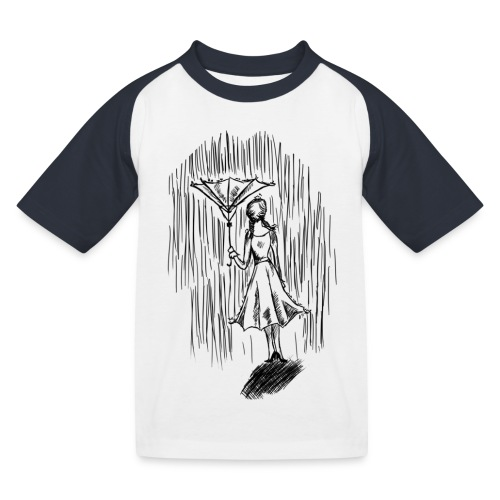 Umbrella - Kids' Baseball T-Shirt