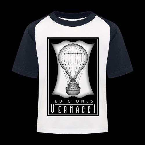 logotipo de ediciones Vernacci - Camiseta béisbol niño