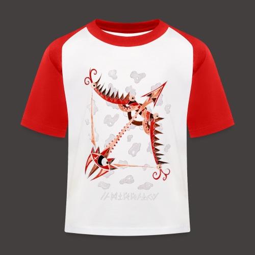 Sagittaire Négutif - T-shirt baseball Enfant