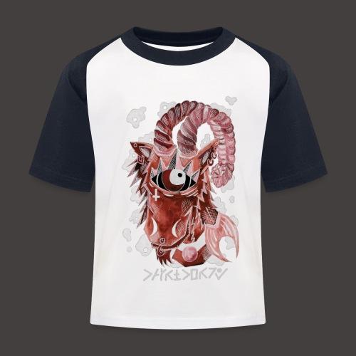 capricorne Négutif - T-shirt baseball Enfant