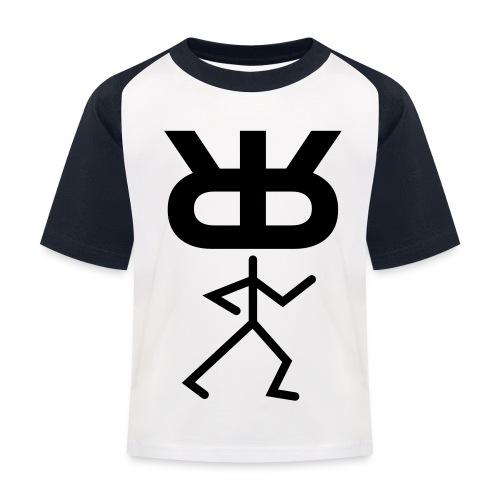 rrm mann kompl - Kinder Baseball T-Shirt