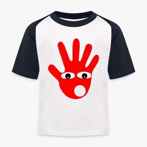 Hände mit Augen - T-shirt baseball Enfant