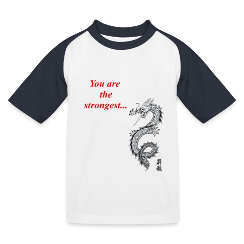 back 3859 - T-shirt baseball Enfant