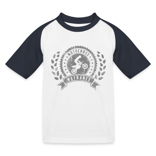 Motocross Retro Champion - T-shirt baseball Enfant
