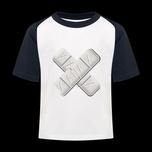Xanax X Logo - Kinder Baseball T-Shirt