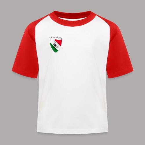 Wappen Struthonia (vorne) - Kinder Baseball T-Shirt