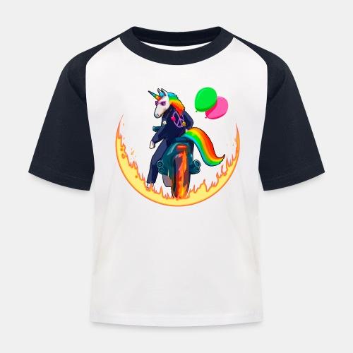Motocornio - Camiseta béisbol niño