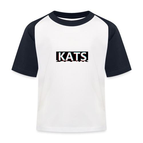 KATS CREW Logo - Koszulka bejsbolowa dziecięca