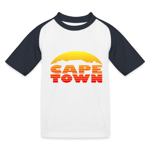 TableMountain-Sunset - Kinder Baseball T-Shirt