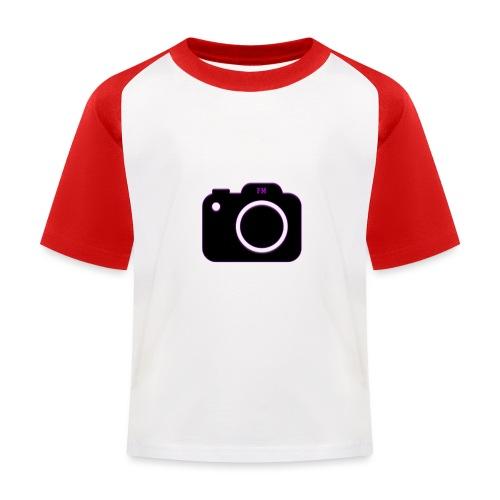 FM camera - Kids' Baseball T-Shirt