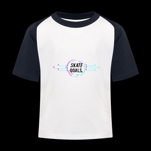 GLITCH SERIES - Kinderen baseball T-shirt