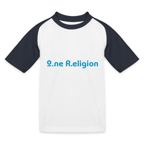 O.ne R.eligion Only - T-shirt baseball Enfant