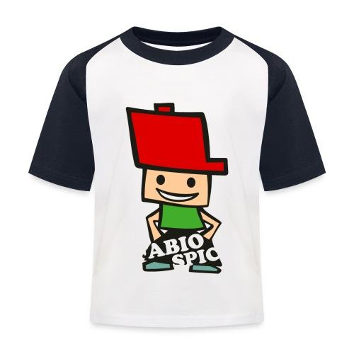 Fabio Spick - Kinder Baseball T-Shirt