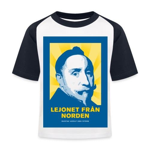 Lejonet från Norden - Baseboll-T-shirt barn