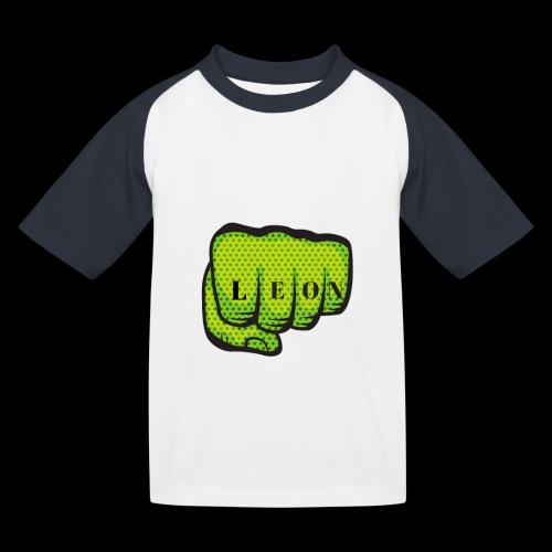 Leon Fist Merchandise - Kids' Baseball T-Shirt