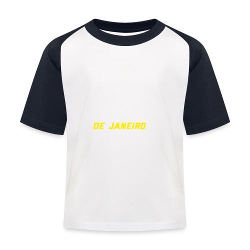 Rio de Janeiro Design. Modern und trendy - Kinder Baseball T-Shirt