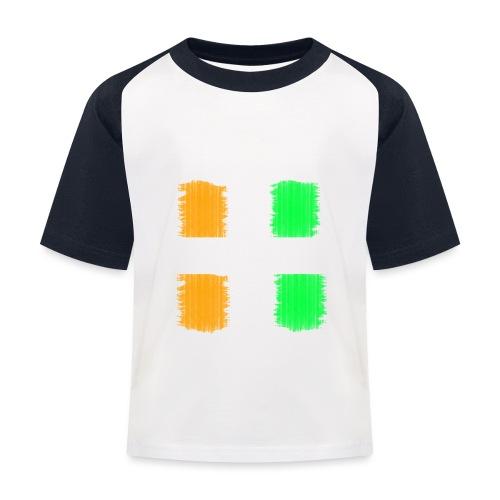 Mumbai Design. Modern und trendy - Kinder Baseball T-Shirt