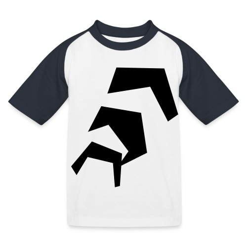 fünfeckstreppe - Kinder Baseball T-Shirt