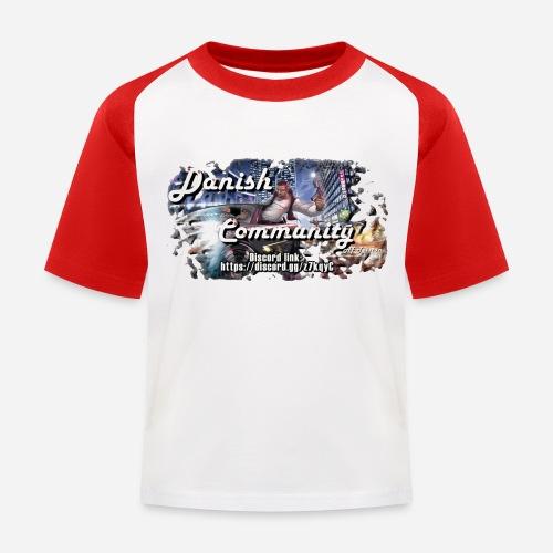 Dansih community - fivem2 - Baseball T-shirt til børn