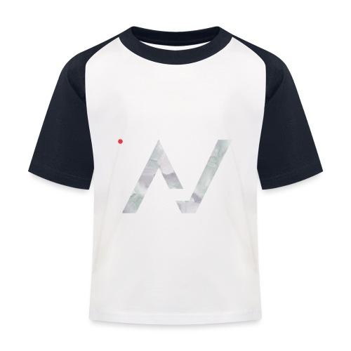 logoalpha blanc - T-shirt baseball Enfant