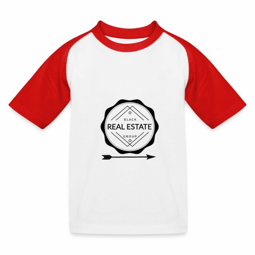 REAL ESTATE. - Camiseta béisbol niño