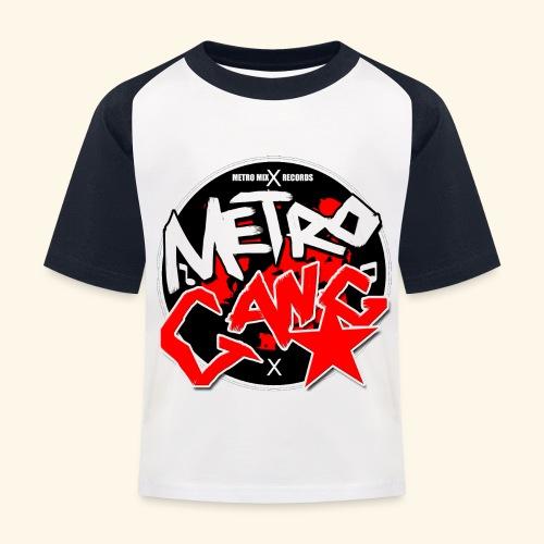 METRO GANG LIFESTYLE - Kids' Baseball T-Shirt