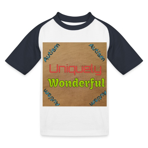 Autism statement - Kids' Baseball T-Shirt