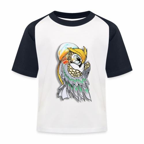 Cosmic owl - Camiseta béisbol niño
