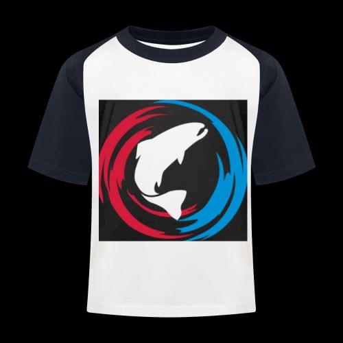 Logo Fisk - Baseboll-T-shirt barn