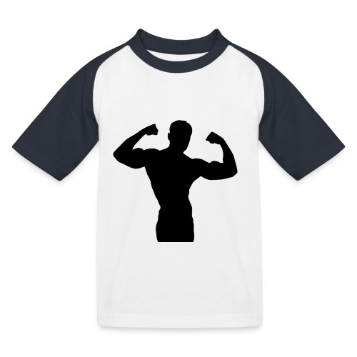 Musculation - T-shirt baseball Enfant