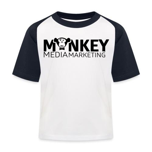 MonkeyMedia Marketing - Kinder Baseball T-Shirt