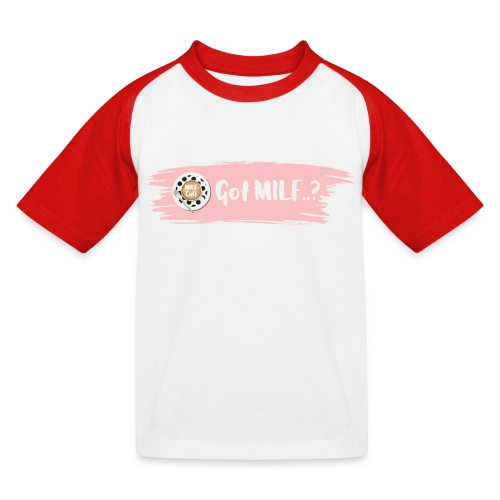 Got MILF Milfcafe Shirt Mama Muttertag - Kinder Baseball T-Shirt