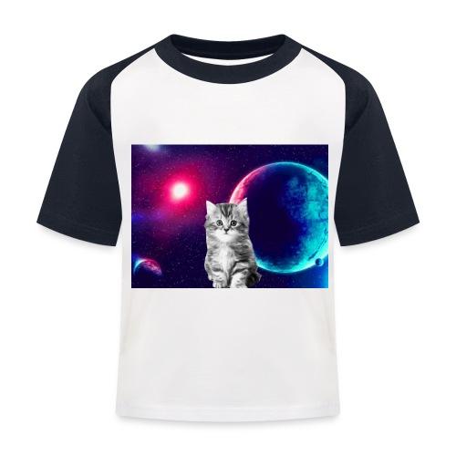 Cute cat in space - Lasten pesäpallo  -t-paita