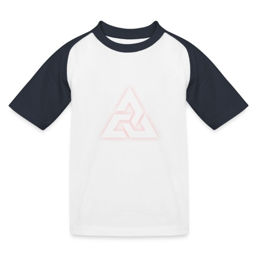 Großes Logo [JxsyFX] - Kinder Baseball T-Shirt