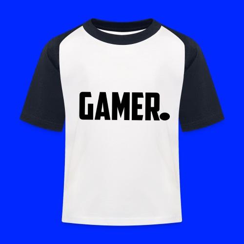 gamer. - Kinderen baseball T-shirt