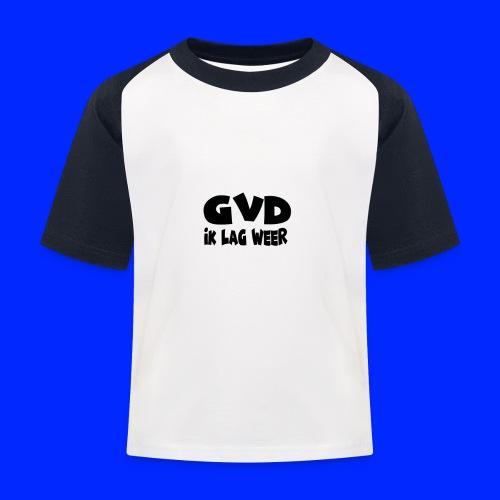GVD ik lag weer - Kinderen baseball T-shirt