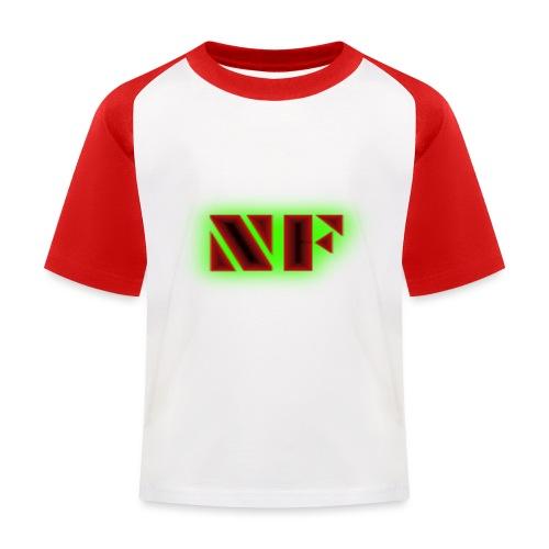 My Logo - Baseball-T-skjorte for barn