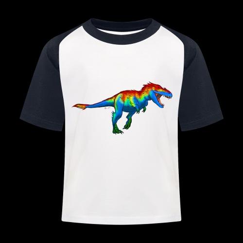 T-Rex - Kids' Baseball T-Shirt