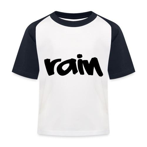 logo 3 Rain png - Kinderen baseball T-shirt