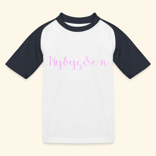 Nybygden - Baseboll-T-shirt barn