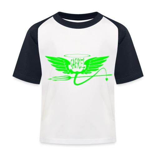 gabriel 2 - Maglietta da baseball per bambini
