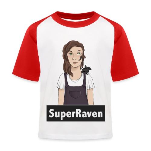 SuperRaven - Kids' Baseball T-Shirt