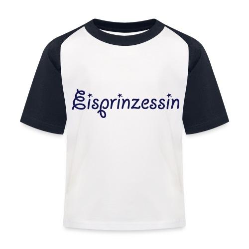 Eisprinzessin, Ski Shirt, T-Shirt für Apres Ski - Kinder Baseball T-Shirt