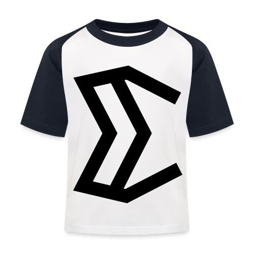 E - Kids' Baseball T-Shirt