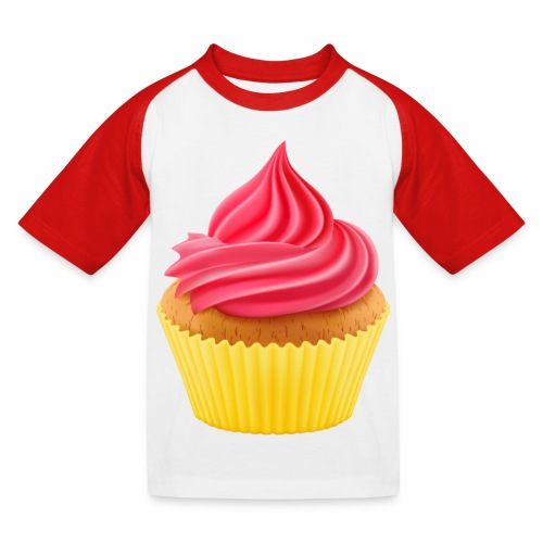 Cupcake - Kinder Baseball T-Shirt