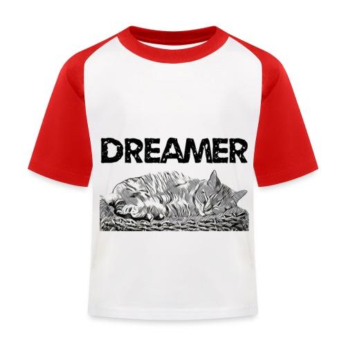 Dreamer - Maglietta da baseball per bambini