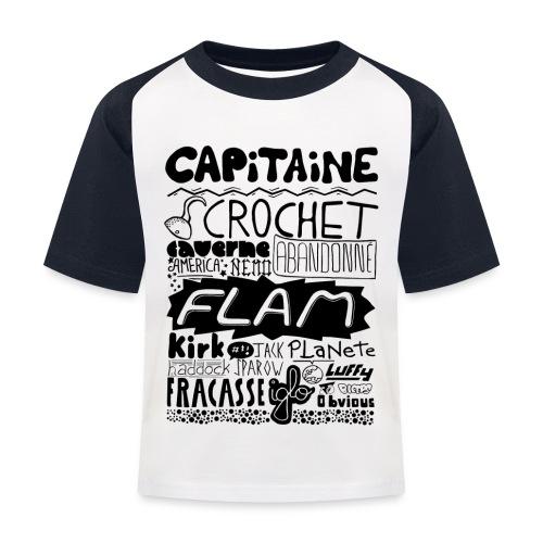 capitaine - T-shirt baseball Enfant